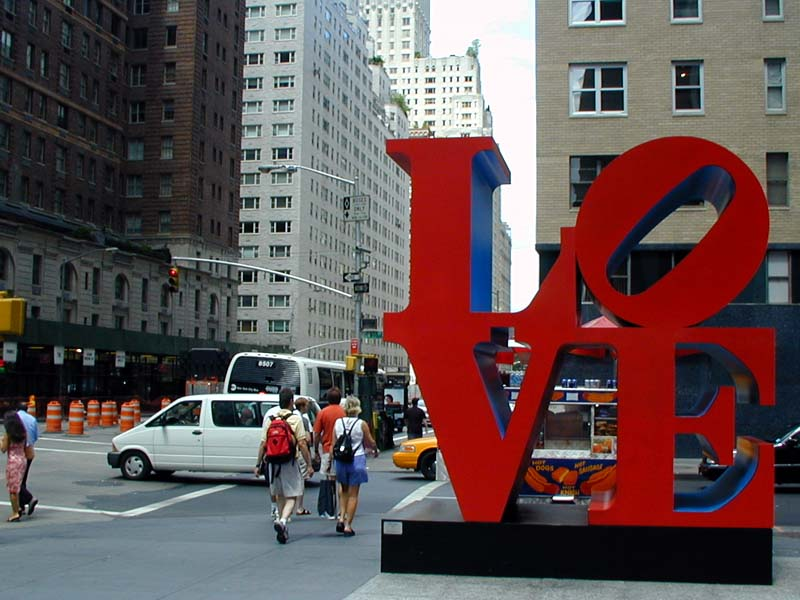 New Design By Robert Indiana
